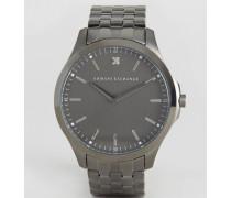 AX2169 Silberne Armbanduhr Silber