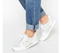 Geschnürte Sneakers Weiß