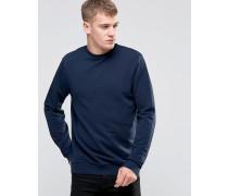 Marineblaues Sweatshirt Marineblau