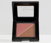 Professional Make-Up Cheek Contour Duo-Palette Mehrfarbig