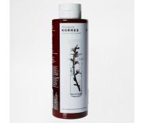 Shampoo für trockenes/geschädigtes Haar mit Mandel und Leinsamen, 250 ml Transparent