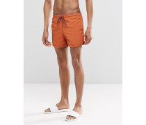 Badeshorts in Orange Orange