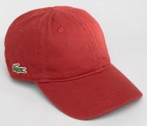 Baseball-Kappe in Burgunderrot Rot