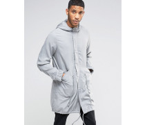 Tencel-Parka in Grau Grau