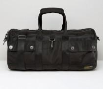 Reisetasche aus Nylon Schwarz