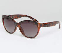 La Di Da Cat Eye Sunglasses Braun