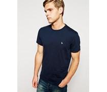 Sandleford T-Shirt mit Fasan-Logo Blau