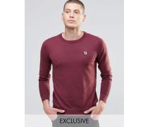 Fila Vintage-Pullover mit Rundhalsausschnitt Rot