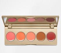 Lippen- und Wangen-Palette Mehrfarbig