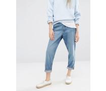 Jeans mit geradem Beinschnitt Blau