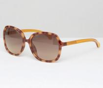CK Jeans Übergroße Sonnenbrille Braun