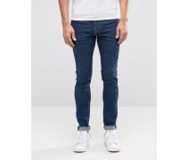 Form Sun Superenge Jeans Blau