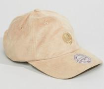 Golden State Warriors Verstellbare Kappe in Mikrovelour Beige