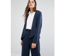Dusa Blazer mit Reißverschlusstaschen Marineblau