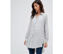 Long Grey Shirt Grau