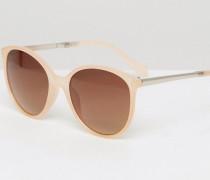 Runde Sonnenbrille Mehrfarbig