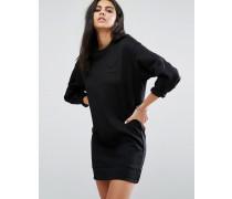 Sweater-Kleid Schwarz