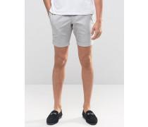 Jack and Jones Hochwertige Shorts mit Hahnentrittmuster Weiß