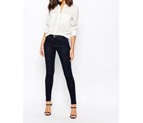 Power Hold Skinny Jeans Marineblau