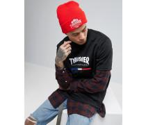 x Thrasher Mütze Rot