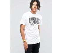 T-Shirt mit reflektierendem Logo Weiß