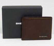 Neela XS Brieftasche mit Kontrastfutter Braun