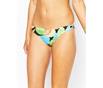 Rae Tropicana Bikinihose im Hüftstil Mehrfarbig