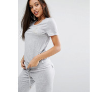 Juicy Jersey-T-Shirt Grau