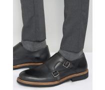 Garrick Monk-Schuhe Schwarz