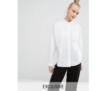 Exklusives Hemd Weiß