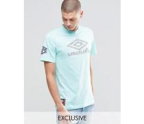 T-Shirt mit Azteken-Logo Grün