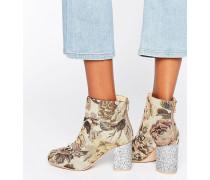 RAMMA Ankle-Boots mit Kette Mehrfarbig