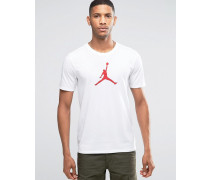 Nike Jumpan 801051-100 T-Shirt in Weiß Weiß