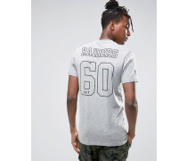 Raiders T-Shirt mit Rücken-Print Grau