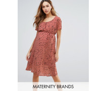 Mamalicious Kleid für Schwangere Rosa