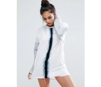 Conflict Sweatshirt-Kleid Weiß