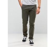 Twister Schmale Jeans in Khaki Grün