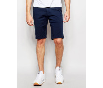 Five-Pocket-Shorts in engem Schnitt Blau