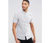 Kurzärmliges Hemd Weiß