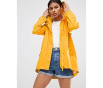 Original Leichter Regenmantel Gelb