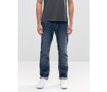 Twister Enge Jeans in Knitter-Denim Blau