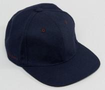 Baseball-Kappe aus Wolle Blau