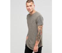 Flanell-T-Shirt Grün