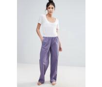 Pyjamahose Violett