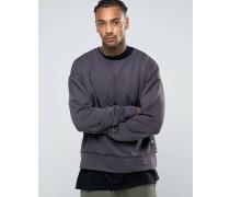 Oversized-Pullover Violett