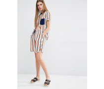 Nedia Pyjamashorts mit Streifen Mehrfarbig