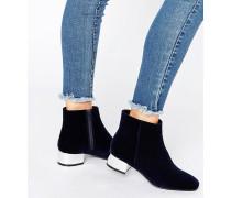AFIRA Ankle-Boots Marineblau