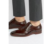 Richmonds Derby-Schuhe aus Leder Schwarz