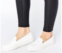 DOODLE Sneaker zum Hineinschlüpfen Weiß