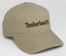 Baseball-Kappe mit Logo Beige